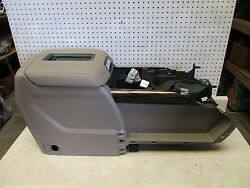 NEW 2015-2018 GM CHEVROLET GMC CENTER CONSOLE STORAGE COMPARTMENT TAN OEM