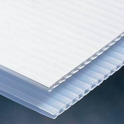 Coroplast 4' X 8' 250 Sheets/order Packaging Roof Pet Cage Fence 4/sheet Bulk