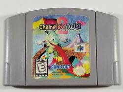 ☆FREE SHIP☆ Chameleon Twist 2 Nintendo 64 N64 Game Cart