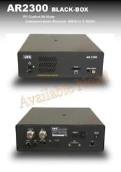 AOR AR-2300 PC-CONTROLLED BLACK BOX COMMUNICATIONS RECEIVER 40 kHz to 3150 MHz
