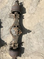 Mitsubishi Fuso Fk Fm Rear Axle Assembly Cab Over Truck 6 Lug Carrier Differ