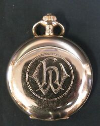 Vintage Early 20th Century German 14k Gold Pocket Watch
