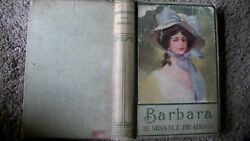 Rare Antique c1880 Barbara By: MISS M.E. BRADDON Illustrated By: Archie Gunn