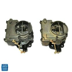 1964 - 1966 Gto Lemans Tri-power End Carburetor Front And Rear