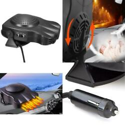 Portable Auto Car Van Heater Defroster Blower Electric 12V Window Demister 150W