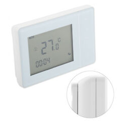 220V Wireless RF Plug In Digital Thermostat Heating Temperature Controller stw
