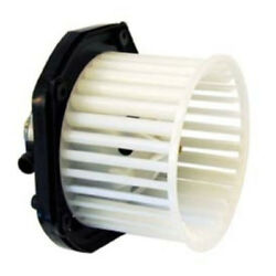 97-00 Tahoe Yukon Front Heater Ac A/c Condenser Blower Motor Assembly W/fan Cage