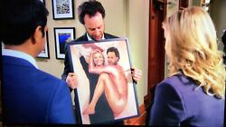 Leslie Knope And Jeremy Jamm Painting Parks And Recreation Seen On Screen Coa Rec