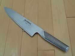 Global G-2 20 Centimeter Cook's Knife Well Cared For