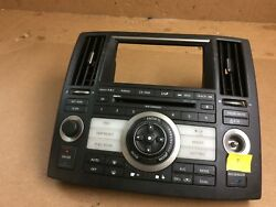 06-08 Infiniti FX Series Heater AC Climate Control W Air Vents #13681