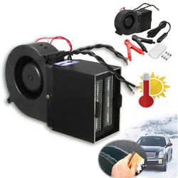 Heater Demister Defroster Hot Vehicle Auto Portable Fan Warmer Car Heating 12v