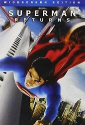 Superman Returns Widescreen Edition DVD VERY GOOD