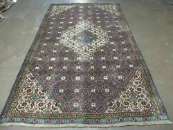 5and039 X 8and039 Antique Hand Made Indian Amritsar Wool Rug Vegetable Dyes Nice