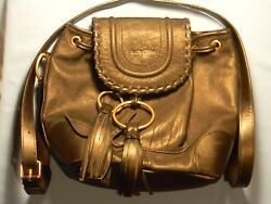 See by Chloé 9S7883-P284 Polly Bucket  Black Leather Women's Bag
