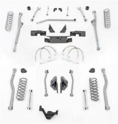 Rubicon Express Extreme Duty Standard Coil Front And Rear For 07-18 Wrangler Jk