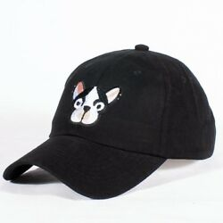 French Bulldog Doggie dad cap - low profile polo COTTON baseball hat sport PUPPY