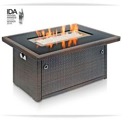 Fire Table Patio Heater Fire Pit Aluminum Frame Propane Auto Ignition Outland