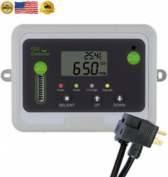 Day Night CO2 Monitor and Controller for Greenhouses