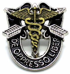 Special Forces Crest Di Sfg Pin Army Sfg Airborne Medical 18d Insignia Sog Sfcmd