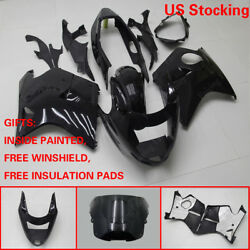 US Stock Black ABS Fairing Bodywork Injection Kit For Honda CBR1100XX 1997-2007