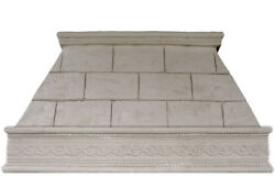 Stone Range Hood - Any Size, Any Color - FLORENCE - Easy Install, Free Samples