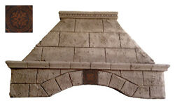 Stone Range Hood - Any Size Any Color - Tuscany - Easy Install Free Samples