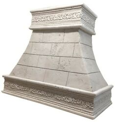Stone Range Hood - Any Size/color - Capped Florence - Easy Install, Samples