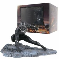 6inch Super Hero Avengers Infinity War Black Panther Statue Action Figure Toys