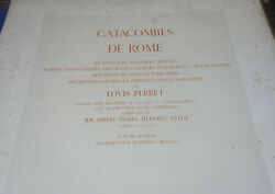 Catacombs Of Rome. Architecture Peintures Wall 6 Vol. 283 Planches 1851