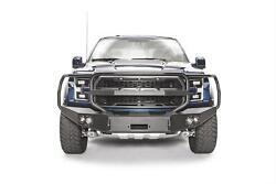 Fab Fours Premium Winch Full Guard Bumpers For 17-18 Ford F-150 Ff17-h4350-1