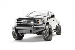 Fab Fours Black Steel Elite Pre-runner Bumpers For 18 Ford F-150 Ff18-r4562-1