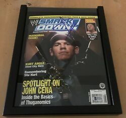 Wwe Smackdown Magazine - Inaugural Issue - Holiday 2003 - Signed By John Cena