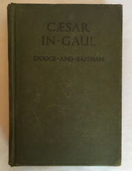 1918 Caesar In Gaul Dand039ooge And Eastman Book Color Maps Lithographs Prints