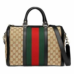 GUCCI WOMEN'S 247205KQW5G9775 MULTICOLOR CANVAS TRAVEL BAG