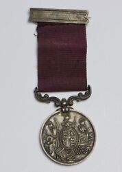 Victorian Era Great Britain Medal For Long Service And Good Conduct