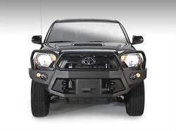 Fab Fours Premium Winch Full Guard Bumpers For 12-15 Toyota Tacoma Tt12-b1650-1