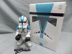 Medicom Sdcc Excl. Star Wars 501st Clone Trooper Vinyl Collectible Doll Vcd 2006