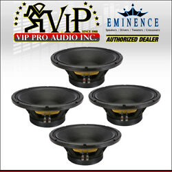 4 Eminence Omega Pro-15a 15 Woofer 1600w Pro Audio Replacement Speaker 8-ohm.