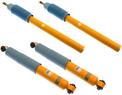 New Bilstein Shock Absorber Set,front And Rear,75-89 Volvo 240,242,244,245,262,b6