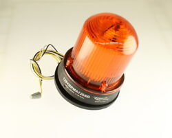 125xbrma120ab Steady-on/flashing 125 Series Led Models. Amber Color