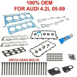 Reinz Cylinder Head Gasket Set W Head Bolts For Audi 4.2l In A6 , S4
