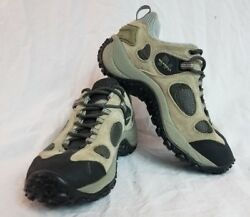 EUC Merrell Chameleon Ventilator Low Grey Womens Hiking Trail Shoes US 8.5