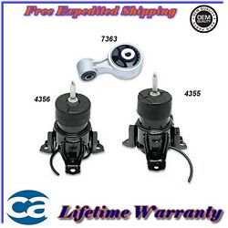 Motor And Torque Mount 3pc For 07 /14 Nissan Altima/ Maxima 3.5l