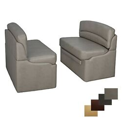 Recpro 44 Rv Dinette Booth Dining Room Seating With Storage Converts To Bed