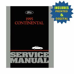OEM Repair Maintenance Shop Manuals CD & Bound for Lincoln Continental 1995
