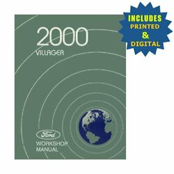Oem Repair Maintenance Shop Manuals Cd And Bound For Ford Truck Villager 2000