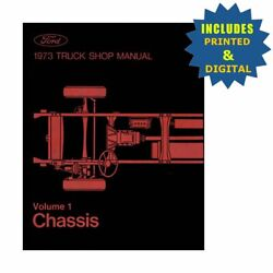 Oem Repair Maintenance Shop Manuals Cd And Bound For Ford Truck All Models 1973