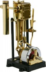 Saito Steam Engine For The Model Ship T1dr-l Single Long Stroke New From Japan