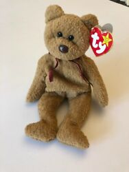 Super Rare And Early Production 1993 Original Curly Beanie Baby With Many Errorsandnbsp