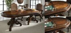 Maitland-smith 8107-13 Lido Finished Dining Table Top European Walnut New